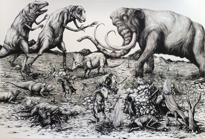 Apocalisse con mammut